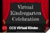 Virtual Kindergarten Celebration