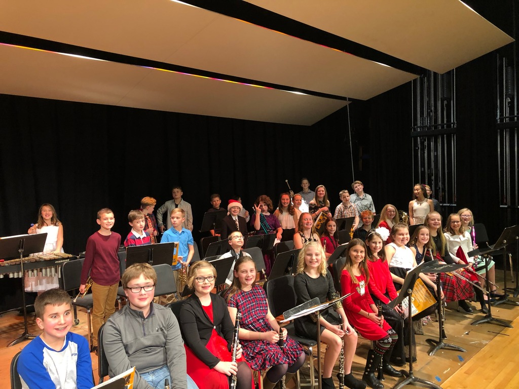 4-6 Grade band students