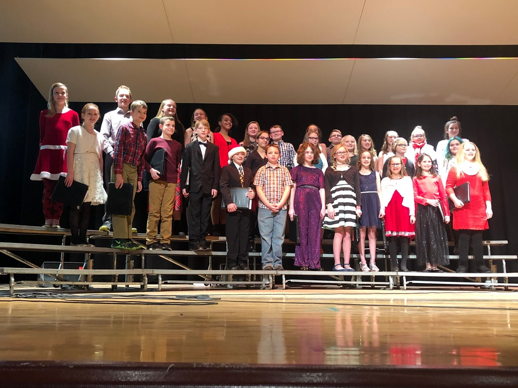4-6 Grade students did a great job at their concert