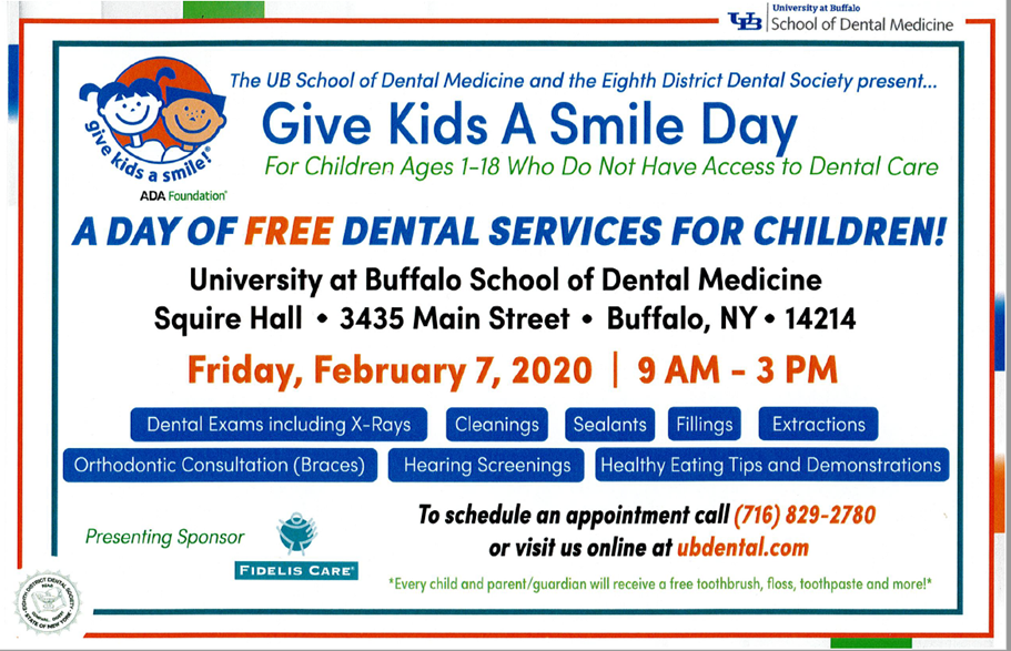 UB Dental Smile Day